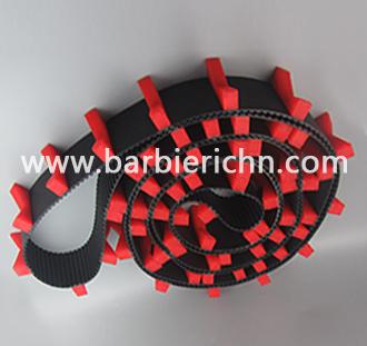 AT10+红色挡块 (黑色底带背面加注塑挡块)