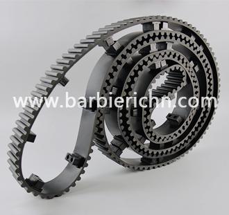 黑色HTD14+螺母挡块